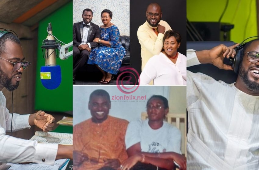 Abeiku Santana Celebrates His Beautiful Wife On Her Birthday Today With A Lovely Photo And Message (See)