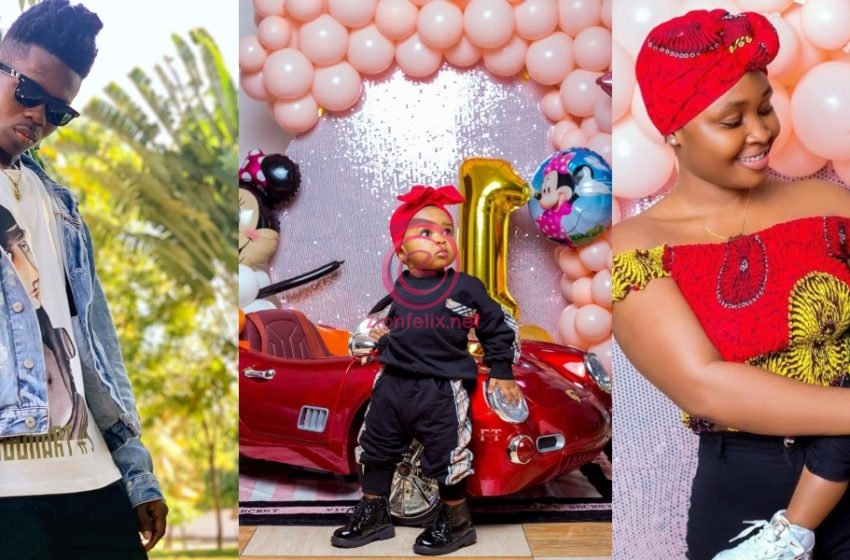 Strongman Burner Celebrates The First Birthday Of His Daughter Simona WIth Stunning Photos (See)