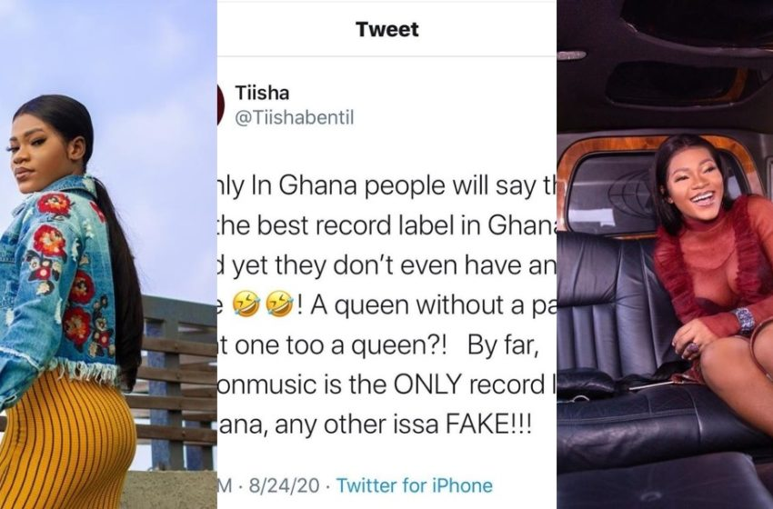 "You Have An Office But You Can't Produce Hit Songs – Social Media User Blasts Tiisha Over ""Zylofon Music Is The Only Record Label"" Comment (See)"