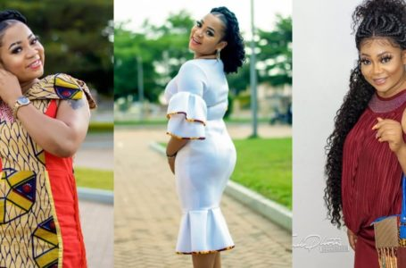 Vicky Zugah Pours More Pepper On Photographers At 2020 Golden Movie Awards As She Joins To Blast Them For Taking Horrible Photos Of Her