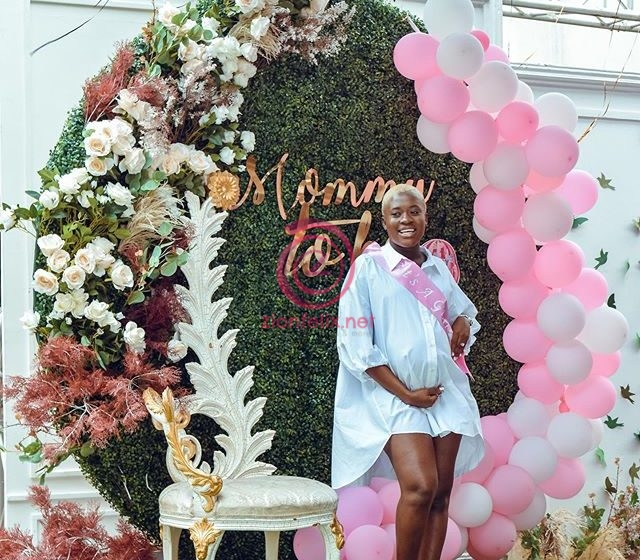 Fella Makafui Finally Drops All The Official Photos From Her Baby Shower – Check Out 20 Exclusives Photos