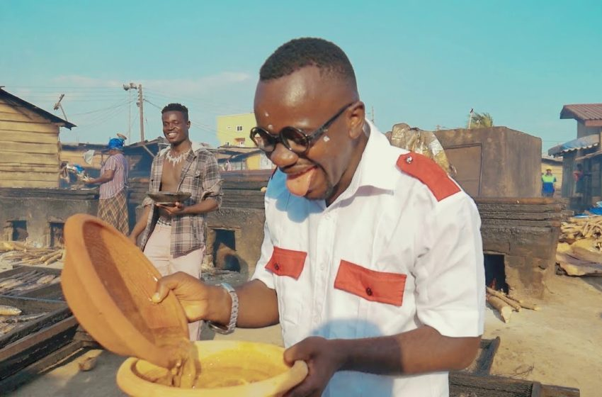 Ajeezay Hypes Palmnut Soup In New Song 'Jerusalem Soup' – Watch Video