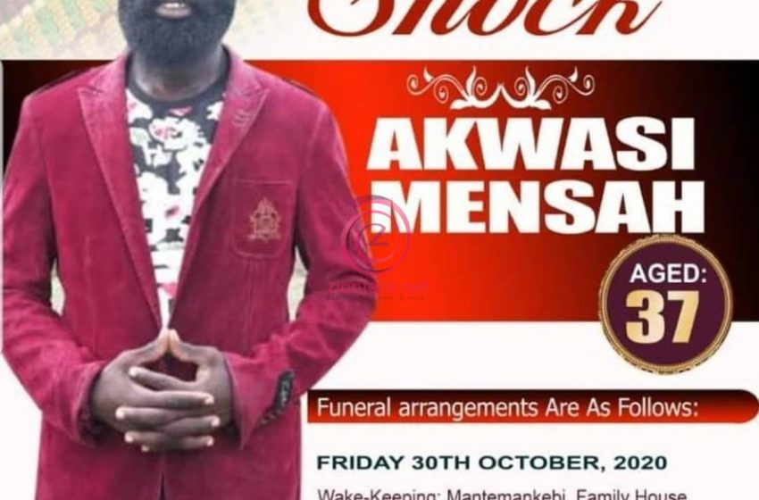 Kumawood Actor Otali Not Dead, Funeral Poster Was For Movie Hype – See Photos
