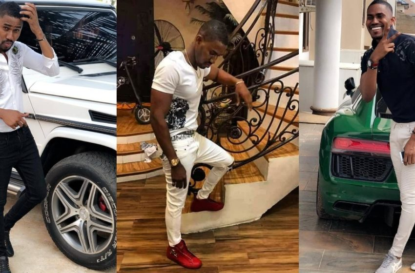 Ghanaian Millionaire Ibrah One Shows Off His New Pretty Girlfriend At A Party In New Video (Watch)