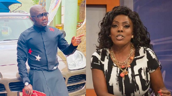 Osebo Passionately Begs Nana Aba Anamoah And His Son For Forgiveness – Says Life Is Too Short