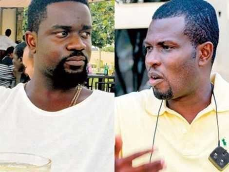 """Sark I Appreciate It"" – Mark Okraku Mantey Praises Sarkodie After He Gave Him 500 Pounds"