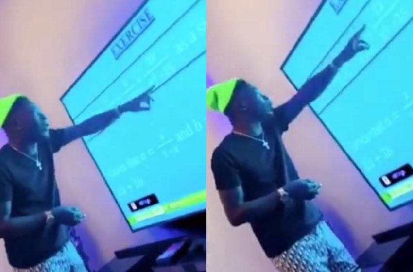 Watch The Moment Shatta Wale Tried To Find 'X' In Hilarious Video