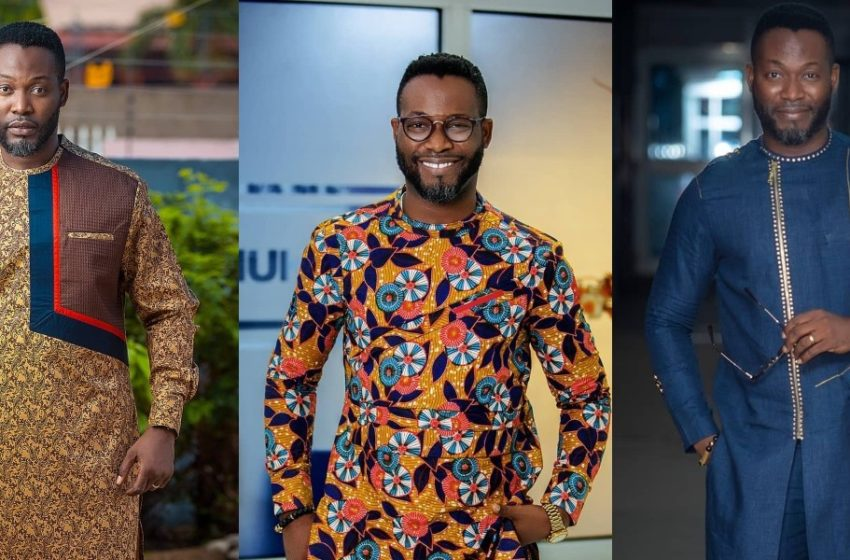 Adjetey Anang And Cute Son Take Over The Internet With Their Lovely 'Father And Son' Photos In The Same Outfits (See)