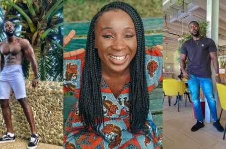 Naa Ashorkor Hosts Celebrity Trainer And Challenges Him To A Push-Up Competition In Video (Watch Who Won)