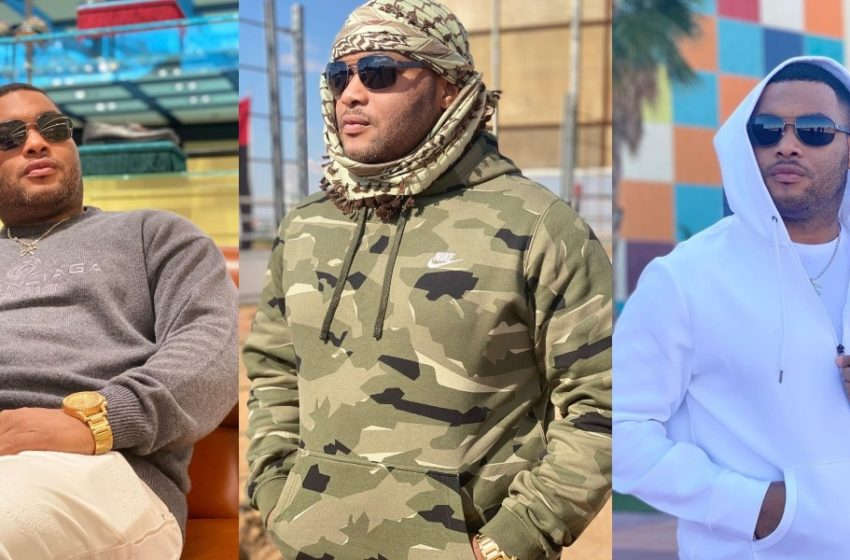 Kwadwo Safo Kantanka Jnr. Wows Fans With Black Panther Pose; Many People Hail Him (See Photo)