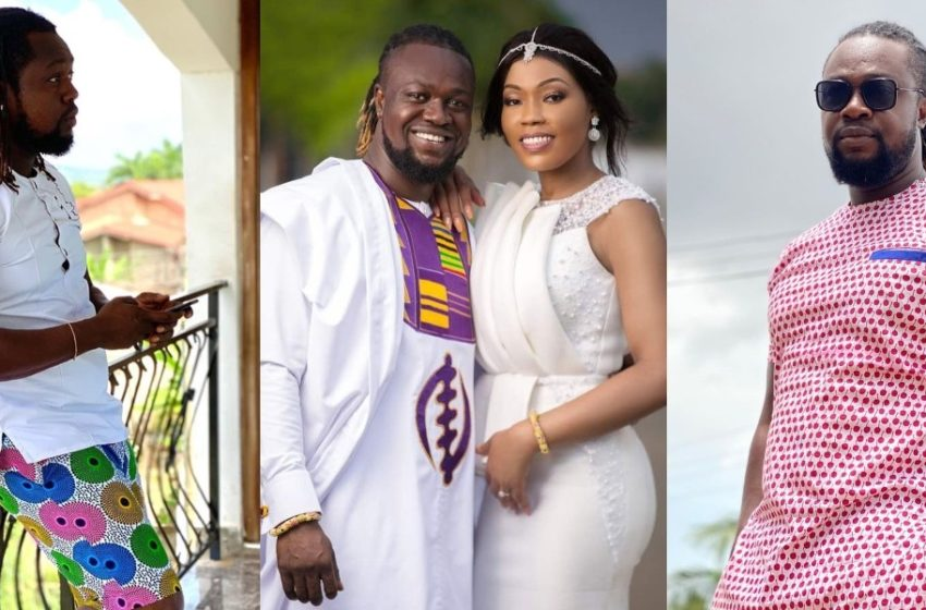 Actor Eddie Nartey And Wife Celebrate Marriage Anniversary With Beautiful Photos