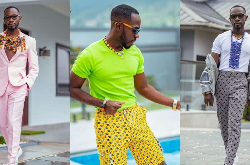 Money Sweet: Okyeame Kwame Shows Off Expensive Glass Mansion In New Video (Watch)