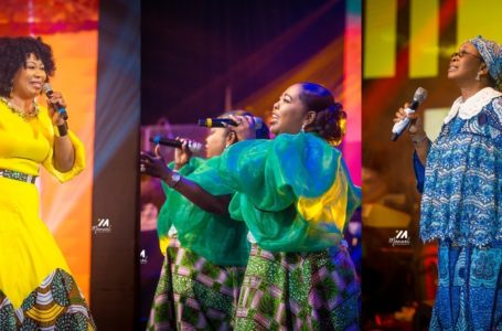 Female Gospel Legends Thrill Fans To Awesome Night Of Music At Women In Worship (Beautiful Photos From Event Pop Up)