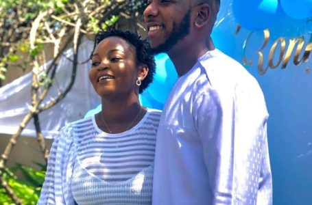 'Couple' Goals! Aaron Adatsi Captured Singing Love Song For His Baby, Eyram In A Lovely Video Causing Stir Online – Watch