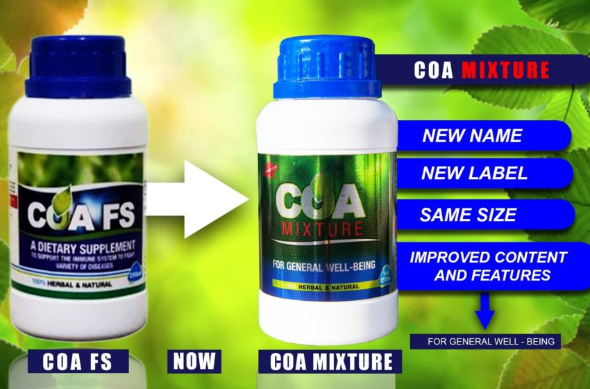 COA Mixture Launched (Watch Video)