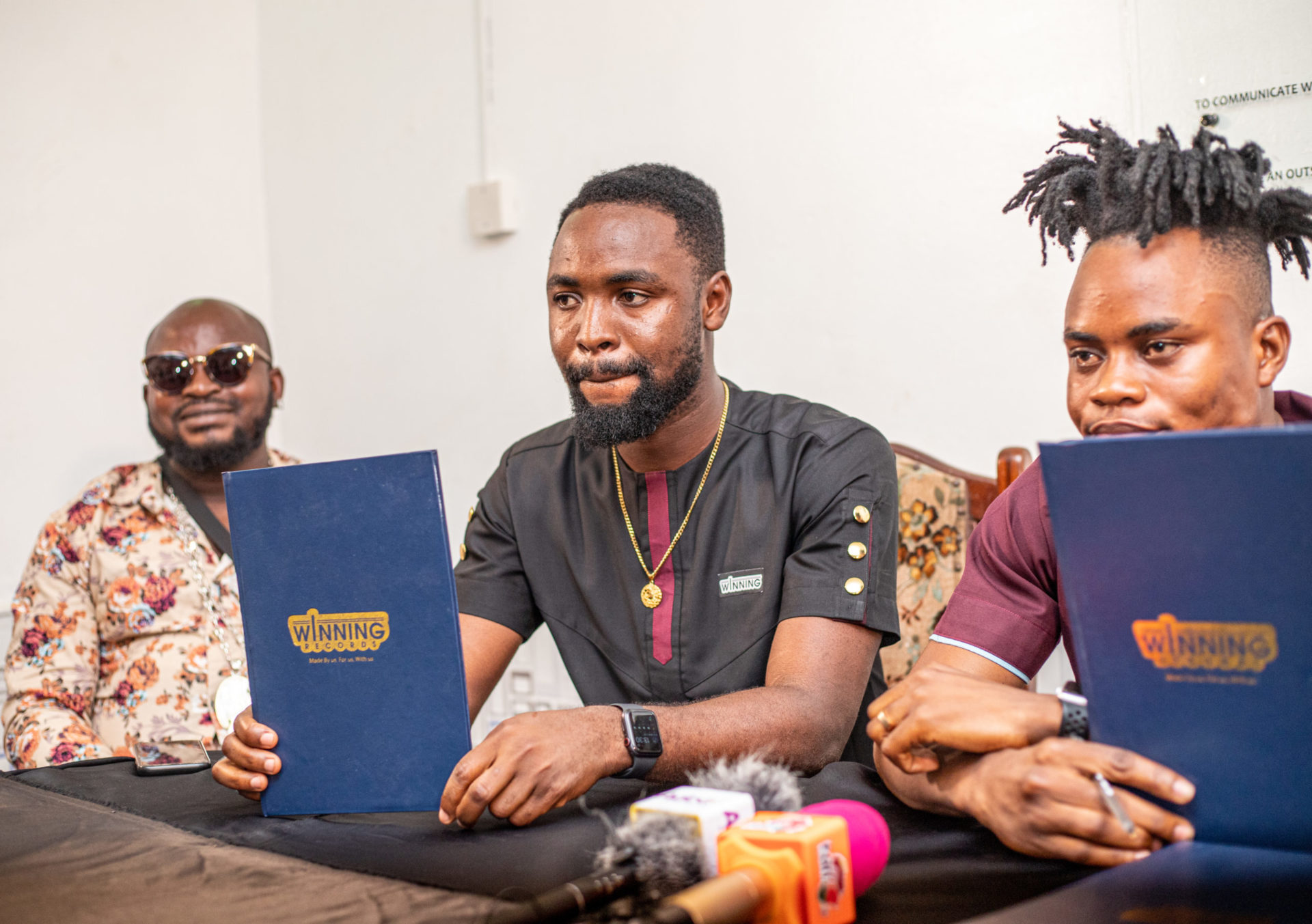 """""""It Is A Dream Come True"""" – Sinami Says As He Inks A 5 Year Deal with WINNING RECORDS"""