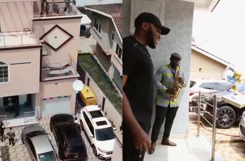 Kennedy Osei's Mansion Pops Up Online (Watch Video)