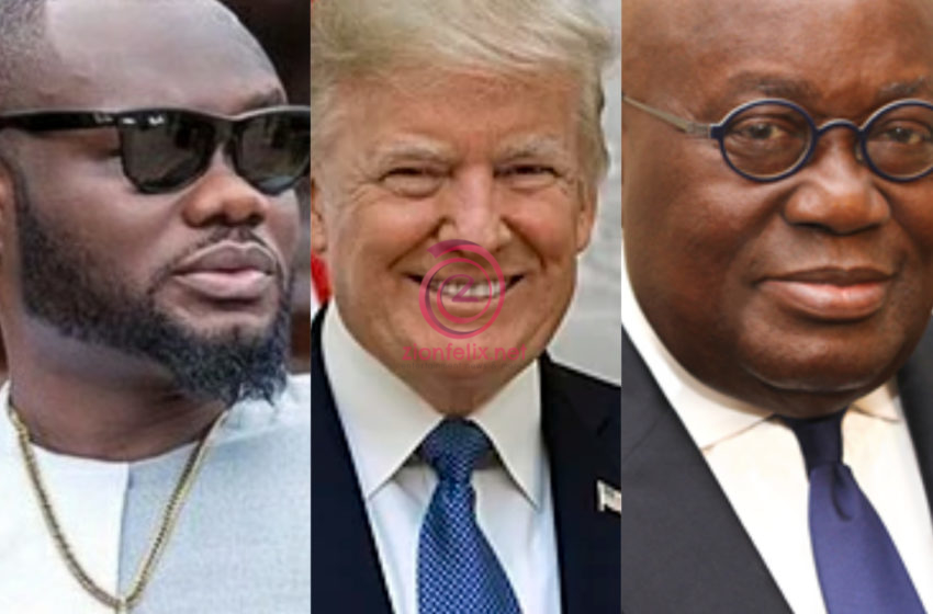 Nana Addo Did What Donald Trump Couldn't Even Do, Vote Four More For Nana – Actor Prince David Osei To Ghanaians