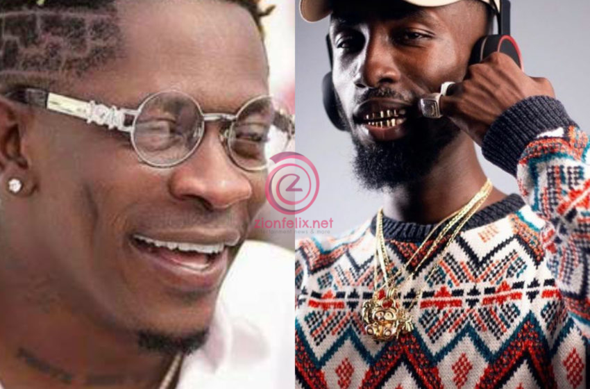 Oseikrom Sikanii Sprays Cash On Shatta Wale At His Birthday Party (Watch Video)