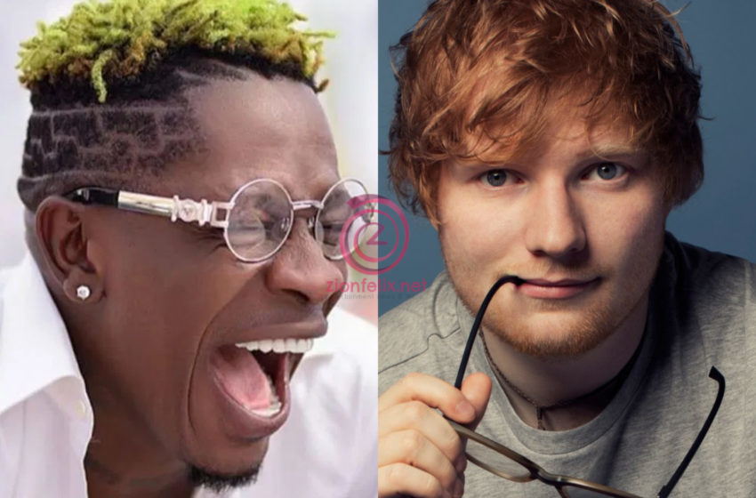 Another Big One! Shatta Wale Collaborates With Ed Sheeran