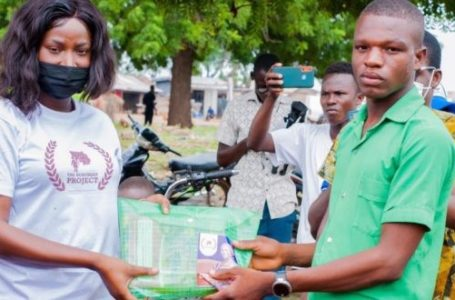 GMB Contestant Distributes Dozens Of School Items To 5 Schools In 4 Districts