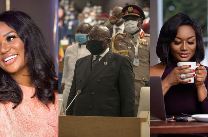 Show Your Authority As The Head Of ECOWAS – Sandra Ankobiah Calls On Akufo-Addo Over #EndSARS Protests (See Post)
