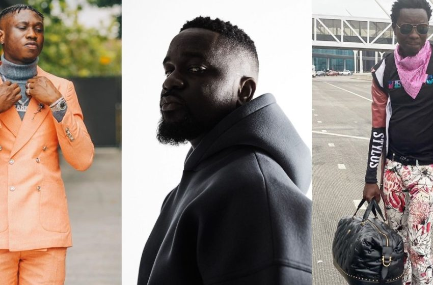 Sarkodie Set To Drop Banger Featuring Zlatan Ibile, Michael Blackson And Fuse ODG (Photos Of Them In Ghana Pop Up)