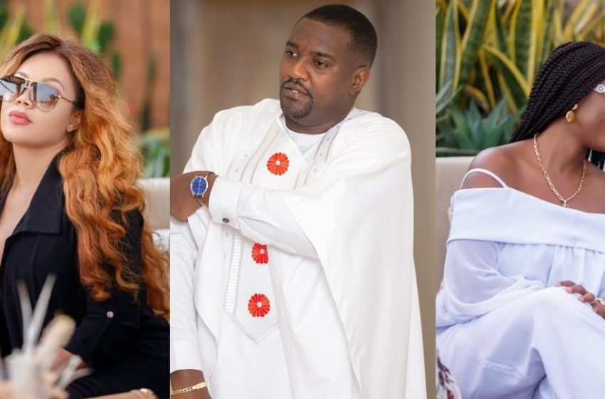 Video Of John Dumelo's Son Playing With Nadia Buari's Twin Daughters Warms Hearts Online (Watch)