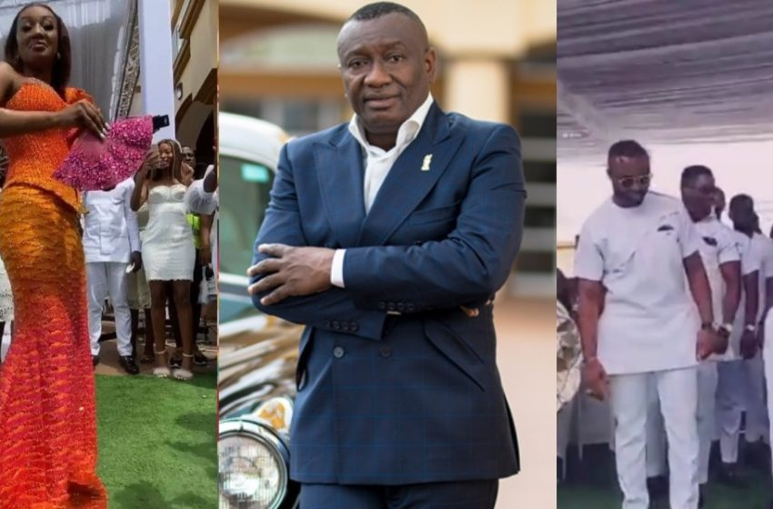 Ciri2020: Beautiful Scenes Pop Up From Marriage Of Dr Ofori Sarpong's Daughter As Lil Win And McBrown Steal Show (Watch Video)