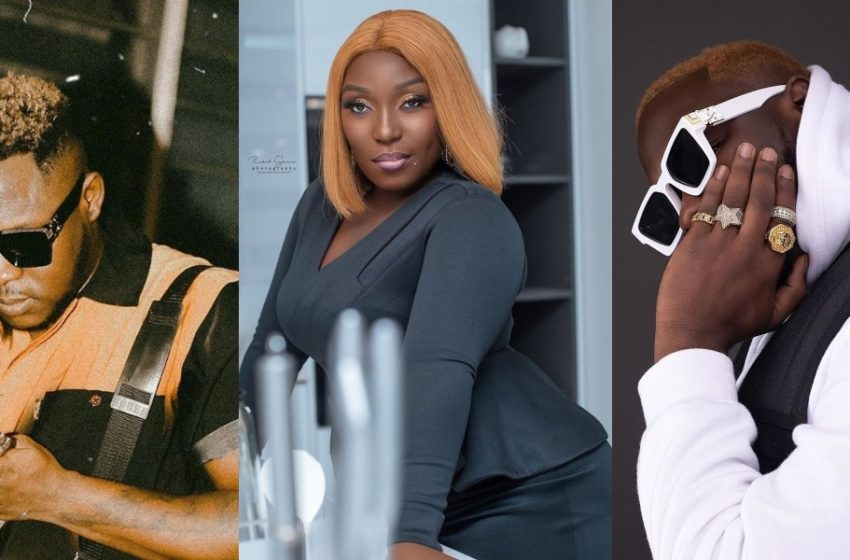 "Rapper Eno Barony Drops Rare Photo On Social Media; Medikal Calls Her ""Cat Woman"" (See Photo)"