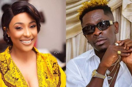 'Secret' Camera Captures Shatta Wale Pushing Money Into The Br@ Of Nikki Samonas In Public – Video