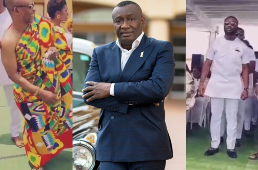Dr Ofori Sarpong's Daughter Ties The Knot Today In Glamourous Style; Top Celebs Attend (Watch Video)