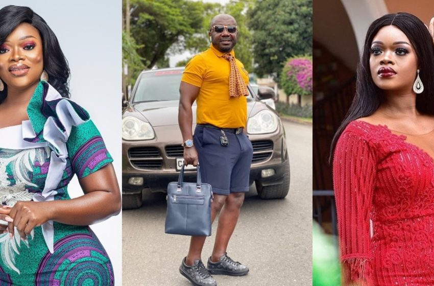 Osebo And Ex-wife Clash On Tracey Boakye's Movie Set – See Photos