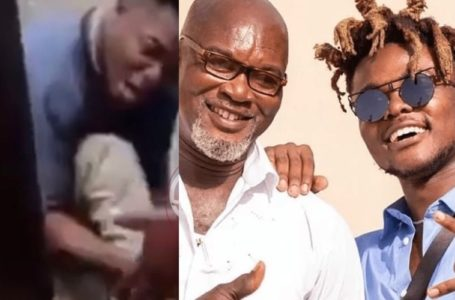 Heartbreaking Video Of Quamina MP Weeping Uncontrollably After Hearing News About The Death Of His Father Surfaces Online