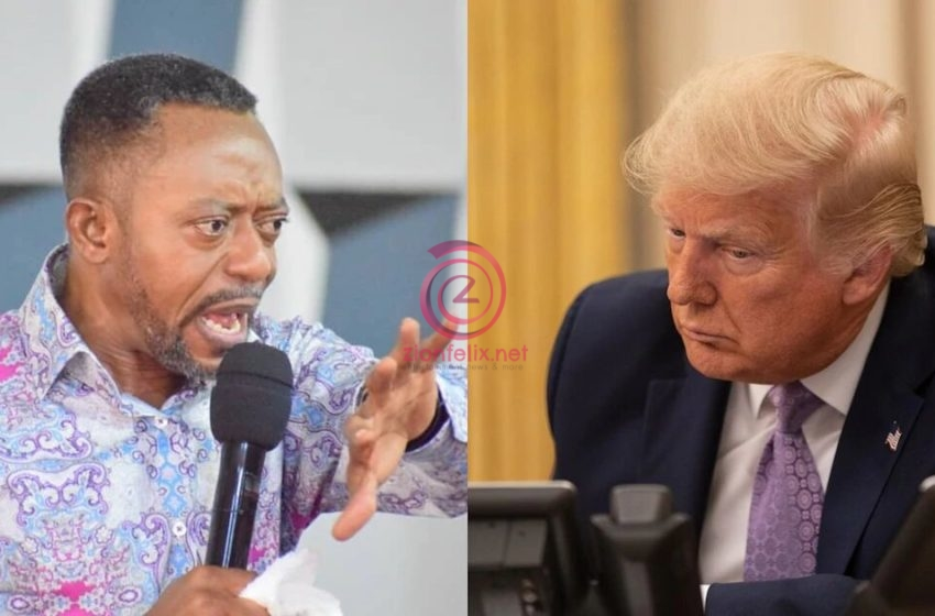 'NPP Prophet' Rev Owusu Bempah Shockingly Curses People Mocking Him Over His Failed Prophecy About The US Elections In New Video – Watch