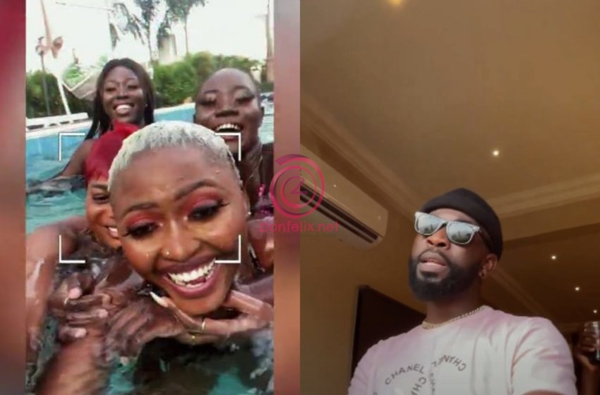 Bisa Kdei Shoots Music Video In His Mansion For The First Time With Half-Naked Girls – Watch