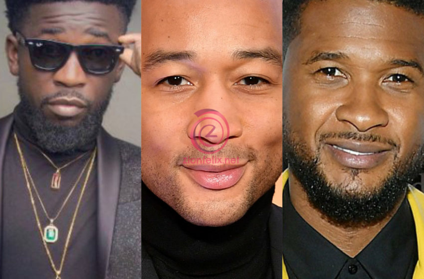 Bisa Kdei, John Legend And Usher Compose Soundtrack For Hollywood Christmas Movie 'Jingle Jangle' (Watch Video)