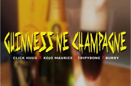 Click Huus Teams Up With Kojo Maurice, TripyBone And Burry On 'Guinness Ne Champagne' (Watch Visuals)
