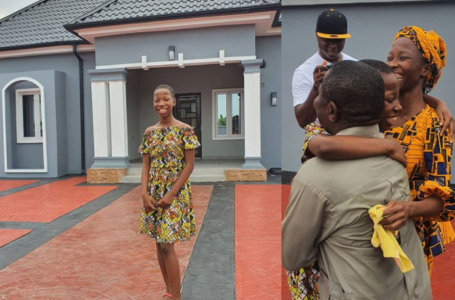 Nigerian Kid Comedienne, Emmanuella Builds A New House For Her Mum (Photos)
