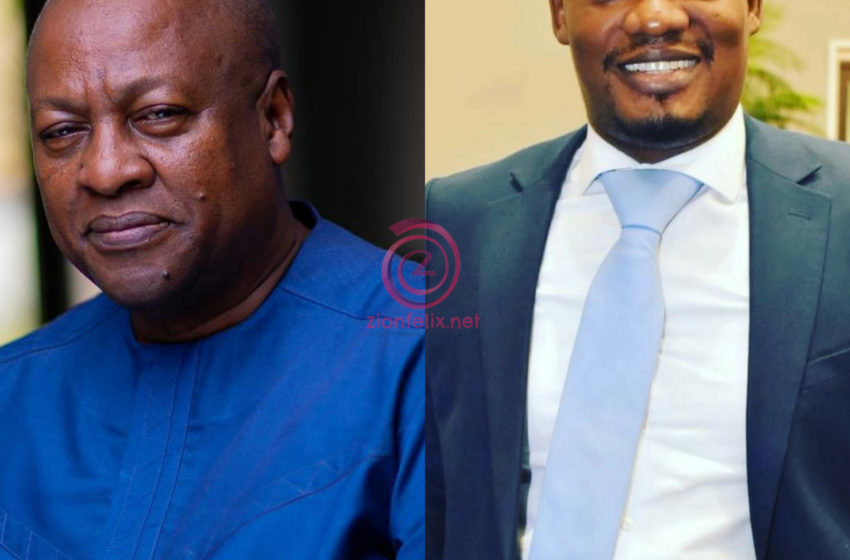 Mahama Lied About Celeb Endorsement, He Should Apologize And Make A Confession To God – Kwasi Ernest