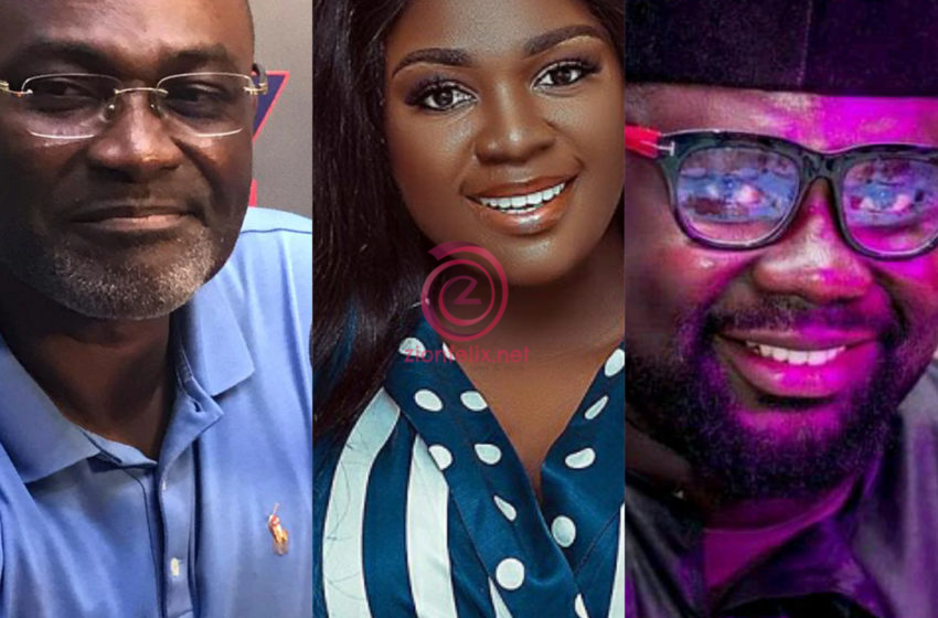 Tracey Boakye's Manager Piles The Woes Of Hon Kennedy Agyapong As He Fires Him More