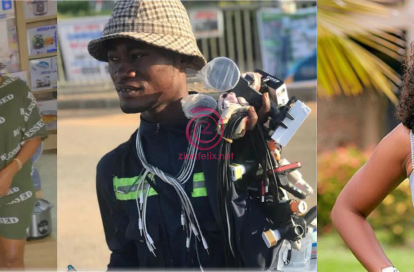 Nana Aba Does It Again; Secures A More Stable Job For Another Street Hawker She Met Recently – Watch Exclusive Video