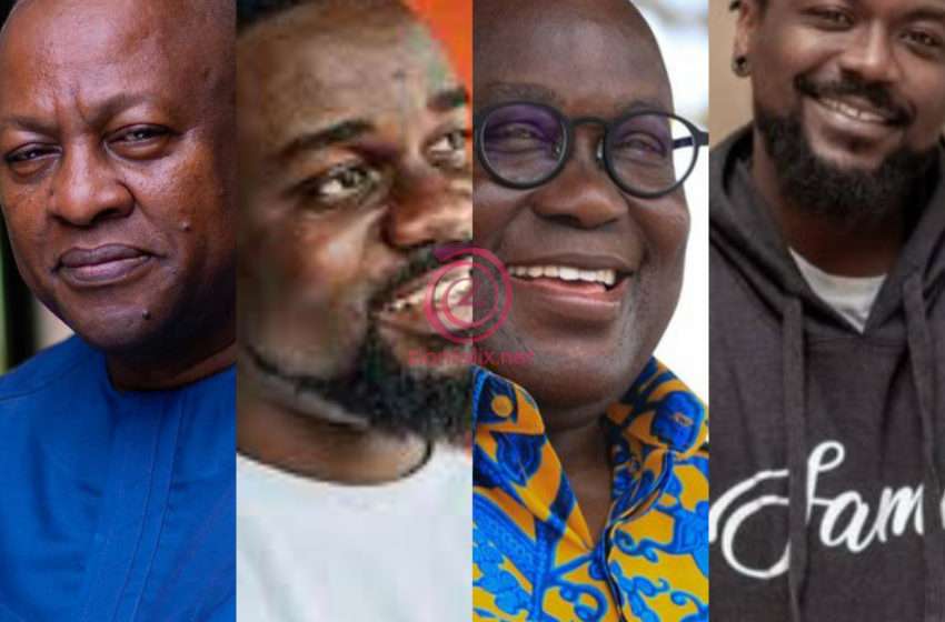 Sarkodie, Samini Endorsing Akufo-Addo None Of My Business, I Don't Need Celebrities For My Campaign  – Mahama Reacts (Video)