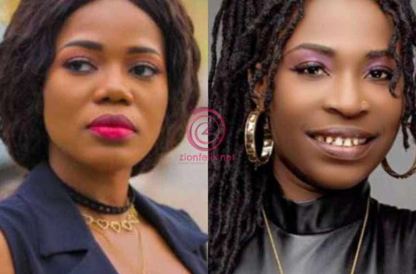 Mzbel Loses Her Cool, Calls AK Songstress And Her Manager Thieves – Watch Video