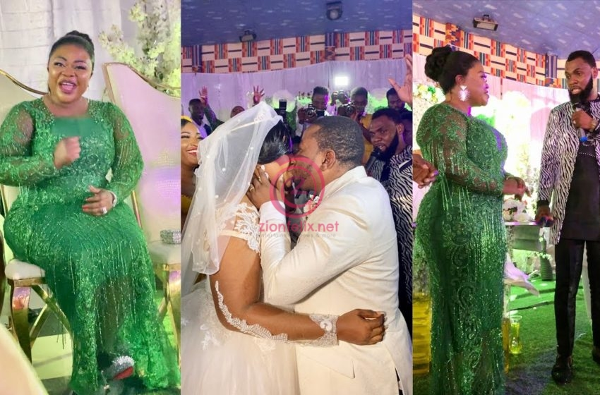 Rev Obofour, Wife Blows Cash At Son's Wedding, Give Bride And Groom Car, Cash, Land & More