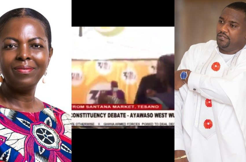 Election 2020: Ayawaso West Wuogon MP Lydia Alhassan And John Dumelo Clash In Debate On Live TV (Watch)