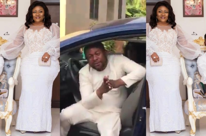Rev Obofour And Wife Bofowaa Honour Promise Of Gifting Car To Bro Sammy's Manager After His Wedding (Watch Video)