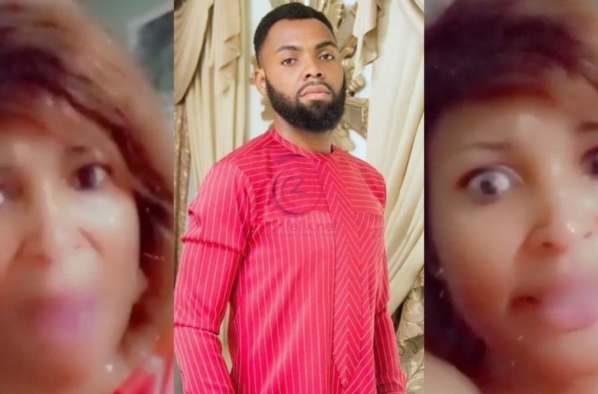 Rev Obofour's Translator Goes Crazy As She Descends On Critics Following Bro Sammy's Manager's Wedding Translation (+Video)