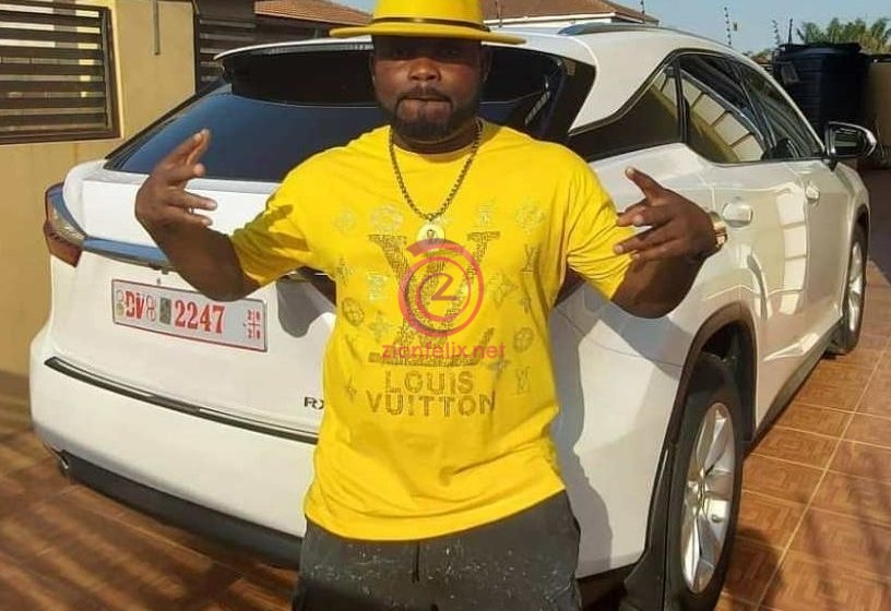 Campaign Money? Praye Tietia Flaunts Expensive Lexus Car After Massively Campaigning For NPP (Photos)