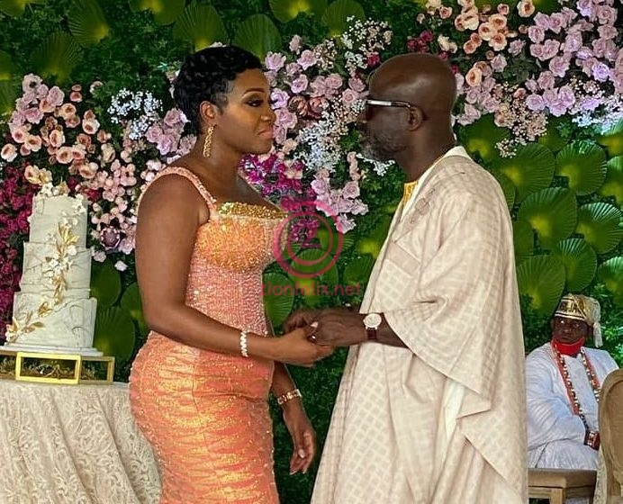 More Exclusive Photos And Video From Prez Akufo-Addo's Executive Secretary, Nana Asante Bediatuo And Femi's Wedding Surface Online